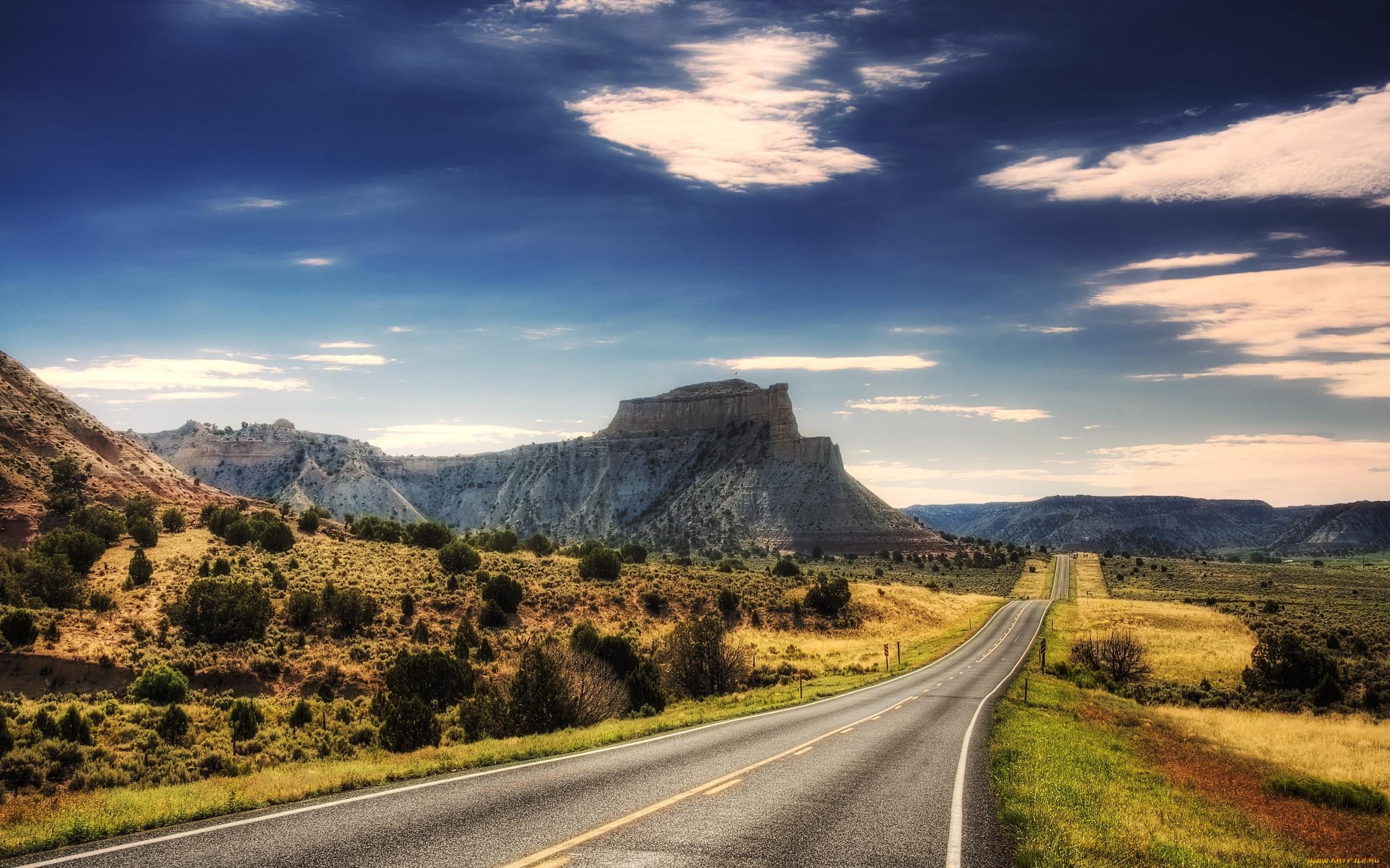 фото дороги уходящей в даль высокого качества